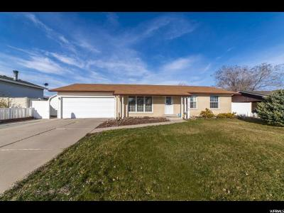 West Valley City Single Family Home For Sale: 3666 S Bannock St W