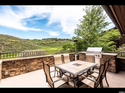 Park City Single Family Home For Sale: 8787 N Ranch Club Ct E