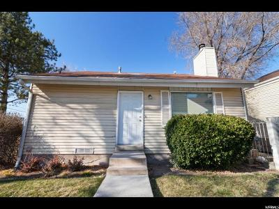 Salt Lake County Single Family Home For Sale: 4126 S Sunny Park Ln