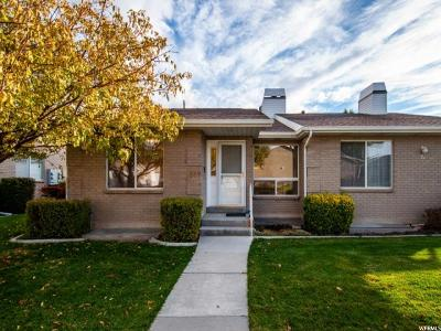 Salt Lake County Condo For Sale: 1527 W Cornerstone Dr
