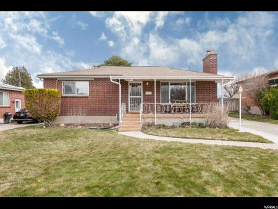 Salt Lake County Single Family Home For Sale: 3281 S Rulon St