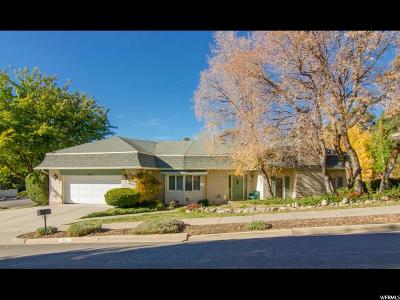 Salt Lake County Single Family Home For Sale: 3621 E Escalade Ave S
