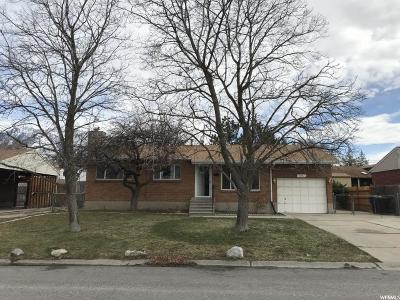 Sandy Single Family Home For Sale: 9941 S Antimony