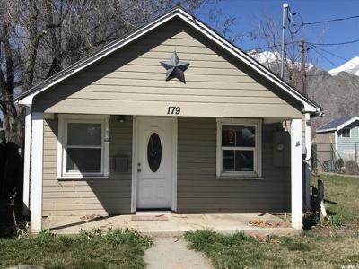 Springville Single Family Home For Sale: 179 E 700 S