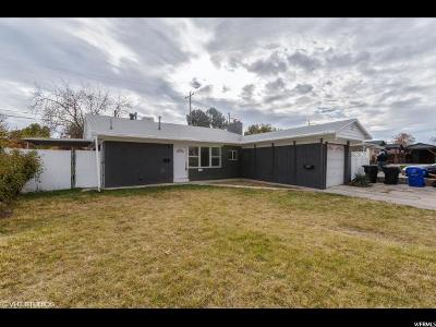 Bountiful Single Family Home Under Contract: 353 W 800 S