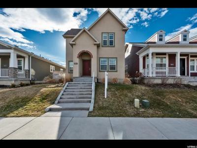 South Jordan Single Family Home For Sale: 10214 S Petaluma Way W