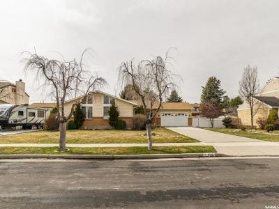 Sandy Single Family Home For Sale: 9128 S Duston Ave