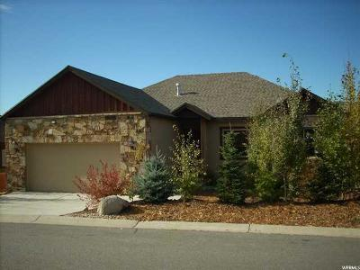 Heber City Single Family Home For Sale: 12221 Ross Creek Dr
