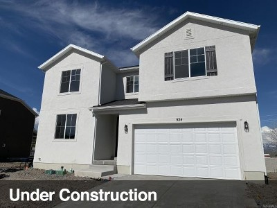 Lehi Single Family Home For Sale: 524 S 2250 W #37