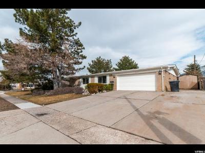 Sandy Single Family Home For Sale: 10391 S Carnation Dr E