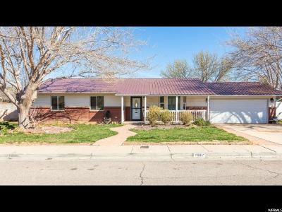 St. George Single Family Home For Sale: 1308 W 540 N