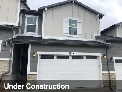 Lehi Townhouse For Sale: 4970 N Marble Fox Way W #143