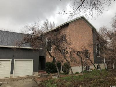 Kaysville Single Family Home Under Contract: 899 E Oxford N