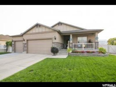 Lehi Single Family Home For Sale: 1487 N 1800 W