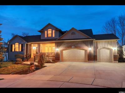 Draper Single Family Home For Sale: 441 E Hedge Hollow Cv S