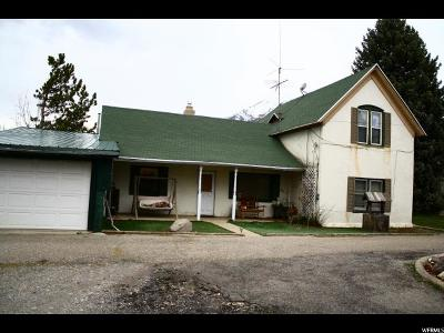 Springville Single Family Home For Sale: 208 S 400 W