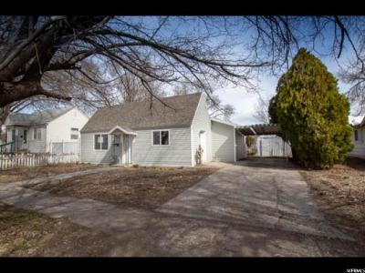 Tremonton Single Family Home For Sale: 215 S 200 W