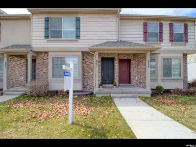 Provo Townhouse For Sale: 851 N Independence Ave