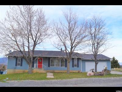 Santaquin Single Family Home Under Contract: 491 E 450 S