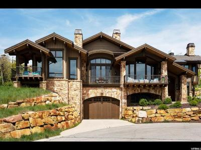 Park City Single Family Home For Sale: 1439 Wild Rose Ct #LOT 28