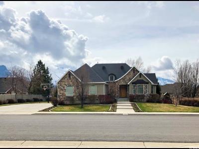 Springville Single Family Home Under Contract: 1954 E 700 S