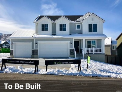 Lehi Single Family Home For Sale: 1046 W Seasons View Court Ct #128