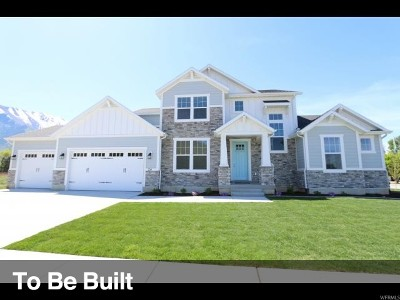 Lehi Single Family Home For Sale: 4392 N Seasons View Drive Dr #129