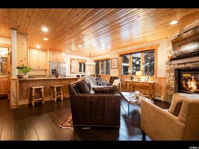 Park City Townhouse Under Contract: 3988 N Timber Wolf Ln #10B