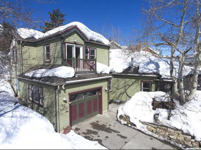 Park City Single Family Home For Sale: 10 Daly Ave