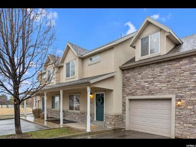 Utah County Townhouse For Sale: 1369 E 380 N