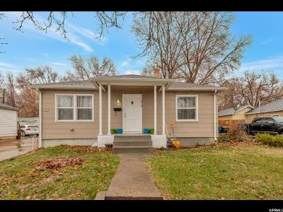 Weber County Single Family Home For Sale: 1916 S Eccles Ave E