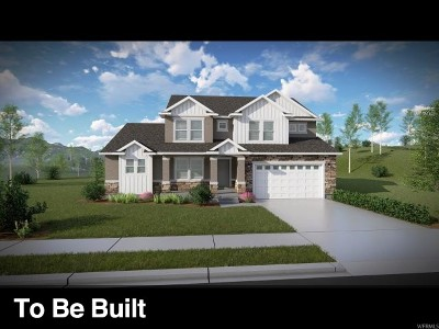Utah County Single Family Home For Sale: 527 E Delano Peak Rd