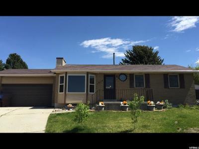 Salt Lake County Single Family Home For Sale: 1213 E Moss Cir