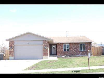 Salt Lake County Single Family Home For Sale: 3717 Deann Dr