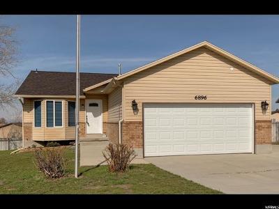 Salt Lake County Single Family Home For Sale: 6896 W 4025 S