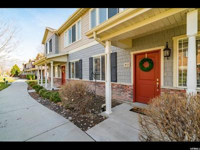 Pleasant Grove Townhouse For Sale: 1612 W 10 S