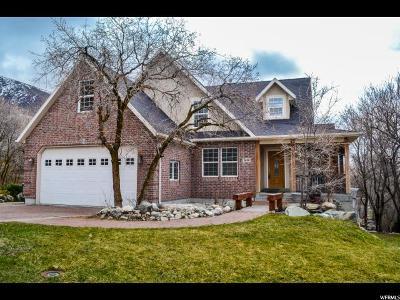 Fruit Heights Single Family Home For Sale: 1646 E Eastoaks Dr