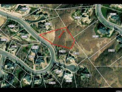 Davis County Residential Lots & Land For Sale: 1374 E Elk Hollow Rd