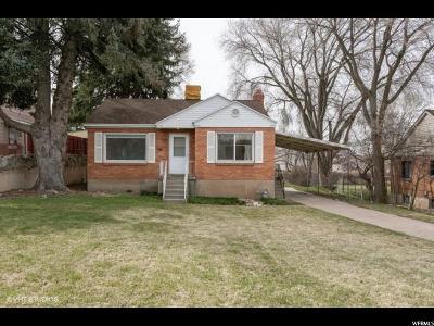 Weber County Single Family Home For Sale: 1449 E 22 St