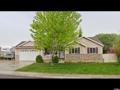 Santaquin Single Family Home For Sale: 545 N 100 E