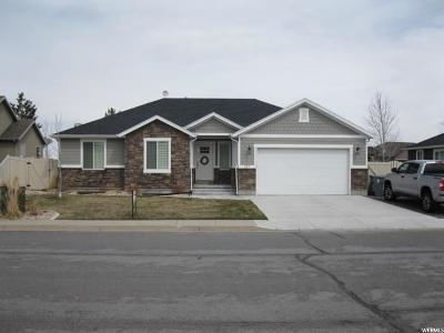 Santaquin Single Family Home For Sale: 227 E 610 S