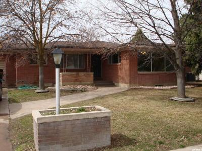 Hyrum Single Family Home Under Contract: 131 N 100 W