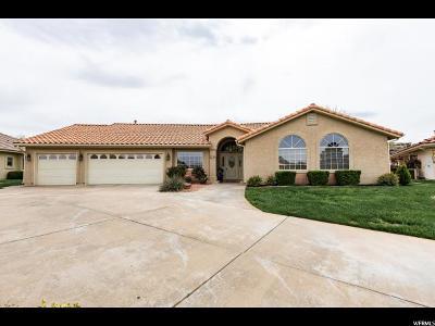 St. George Single Family Home For Sale: 459 W Tee Cir