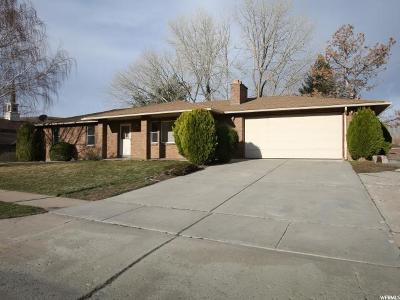 South Weber Single Family Home Under Contract: 7957 S 2250 E