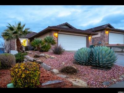 St. George Single Family Home For Sale: 826 W Sir Monte Dr