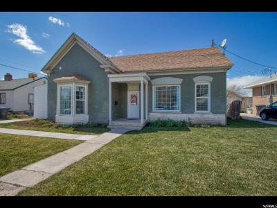 Single Family Home Under Contract: 338 S 100 E