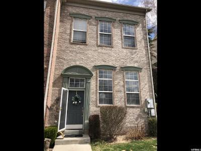 Draper Townhouse For Sale: 14139 S Senior Band Rd E