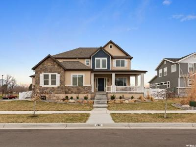 Orem Single Family Home Under Contract: 209 W 1390 N
