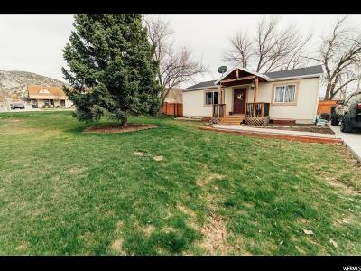 Nephi Single Family Home Under Contract: 392 E 400 S