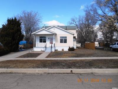 Price UT Single Family Home For Sale: $184,900